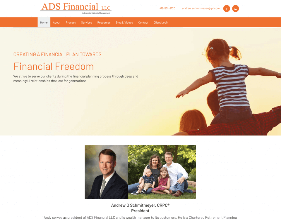 ADS Financial LLC St Henry and Minster Ohio