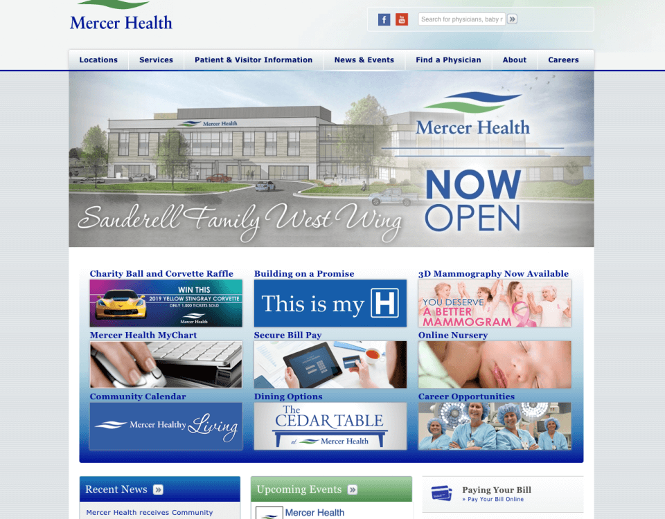 Mercer health Coldwater Ohio