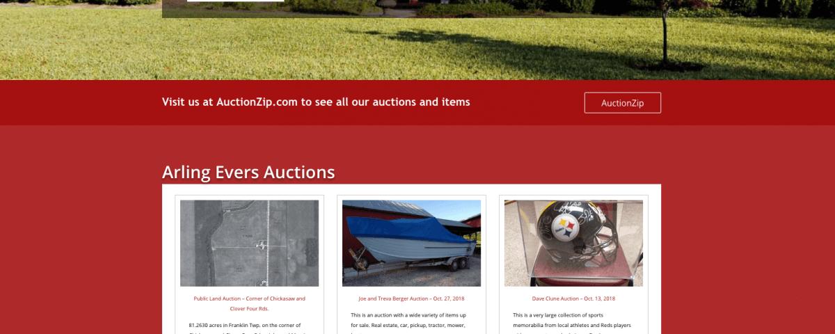 arling evers auctioneers ltd